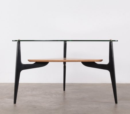 Rare tripod coffee table by Alfred Hendrickx for Belform