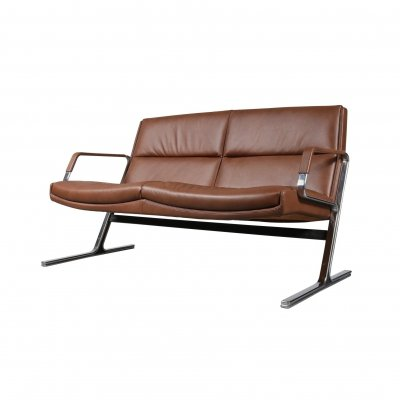 Preben Fabricius 2-Seat Sofa by Walter Knoll, Germany 1970s