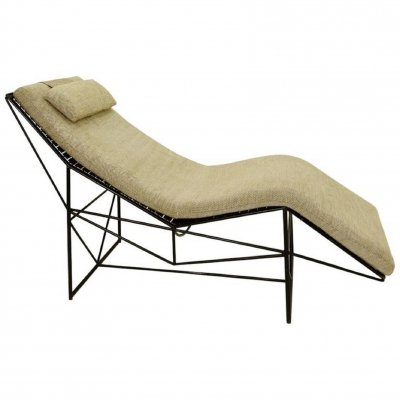 Chaise Longue by Paolo Passerini for Uvet, 1985