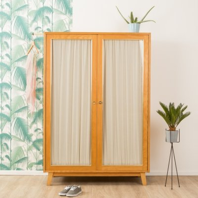 German ash wardrobe from the 1950s