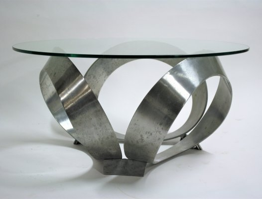 Vintage diamond coffee table by Knut Hesterberg, 1960s