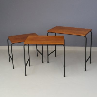 Minimimalist Set of Nesting Tables, 1950s