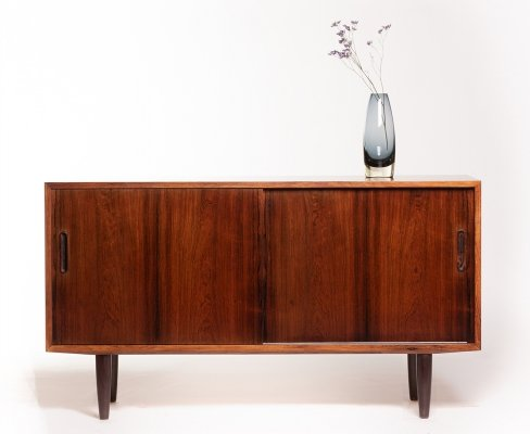Vintage rosewood Danish sideboard by Carlo Jensen for Hundevad