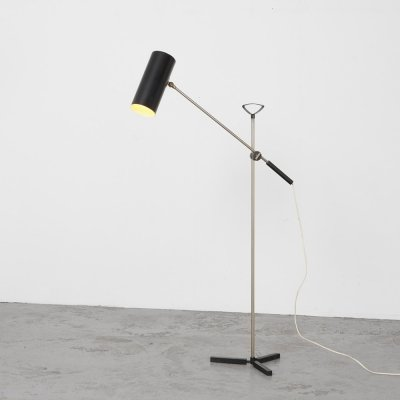 J. Hoogervorst Floor Lamp 8028 for Anvia, 1955