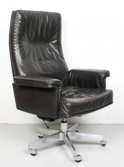 De Sede DS 35 Executive recliner/swivel office chair, 1960s