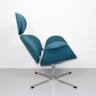 1st edition 'Big Tulip' lounge chair by Pierre Paulin for Artifort
