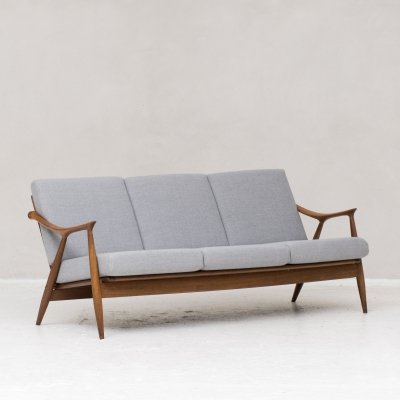 Rare 3-seater sofa by De Ster Gelderland, the Netherlands 1960s