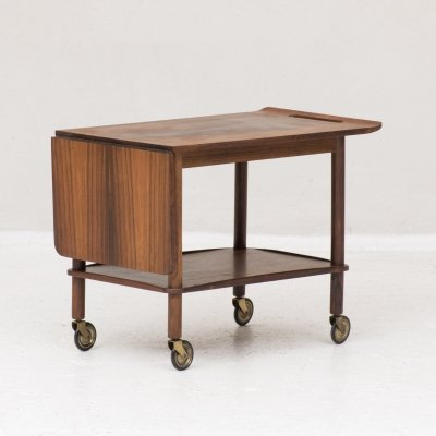 Serving trolley by Johannes Andersen for CFC Silkeborg, Denmark 1960's