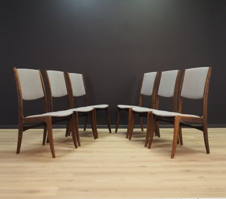 Set of 6 Skovby Møbelfabrik lounge chairs, 1970s