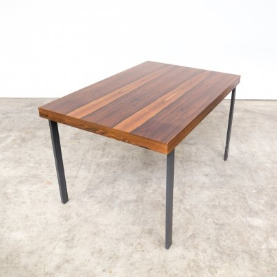 Rosewood veneer dining table, 1970s