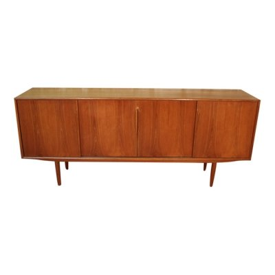 Vintage scandinavian teak sideboard by Gunni Omann for Axel Christiansen, 1960s
