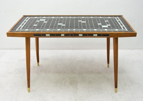 Mid century mosaic coffee table, Germany 1968