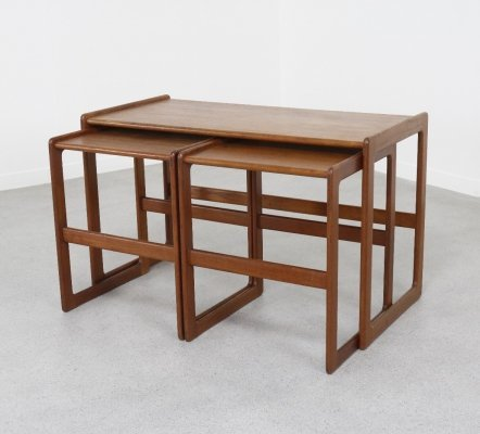 Nesting table by Arne Hovmand Olsen for Mogens Kold, 1960s