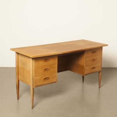 Dutch sixties teak desk