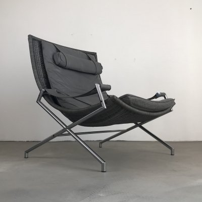 DES 2021 lounge chair by Gerard van den Berg for Rohé Noordwolde, 1980s