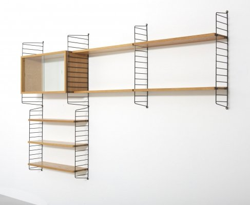 Wall Unit by Nisse & Kajsa Strinning for String Design AB