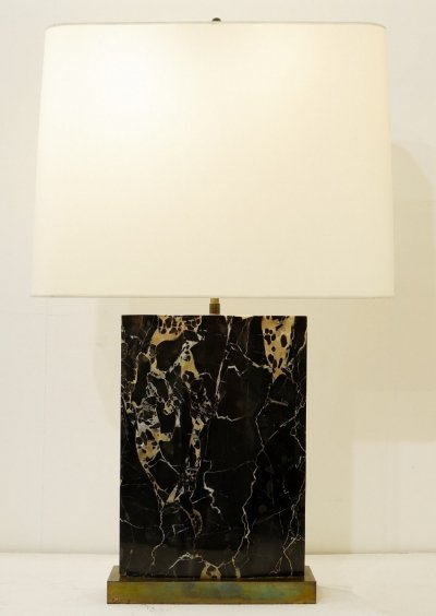 Portor Marble Table Lamp, 1970s