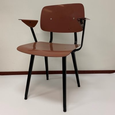 Revolt dining chair by Friso Kramer for Ahrend de Cirkel, 1960s