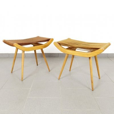 Pair of vintage stools, 1960s