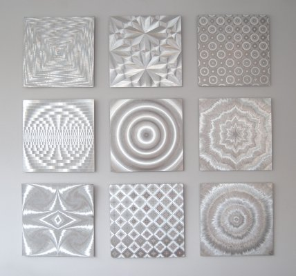 Silver Graphics by Barbara Lüdinghausen, 1970s