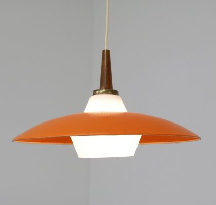 Dutch design hanging lamp, 1950s