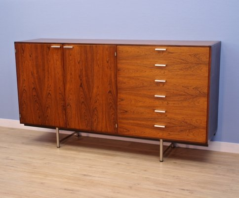 Dutch highboard in rosewood by Cees Braakman for Pastoe, 1960s