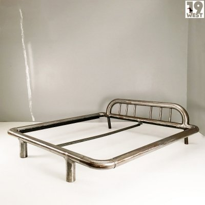 Brutalist king size bed from the 1980's