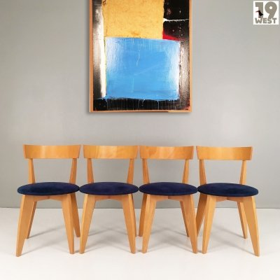 Four Carugo Chairs by James Irvine for Cappellini