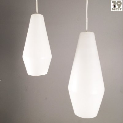 Modernist pendant lamps from the 1950's