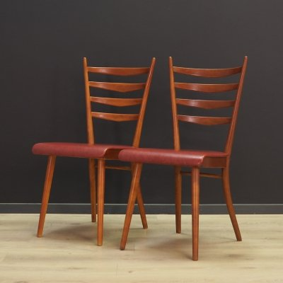 Pair of vintage dining chairs, 1960s