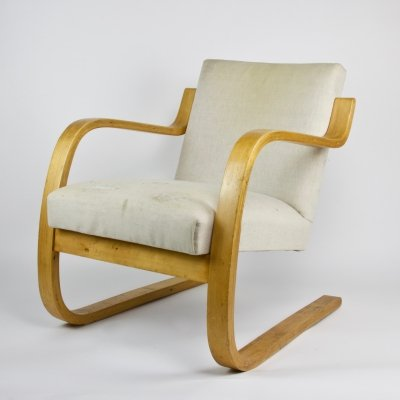 Early edition 'model 402' bentwood chair by Alvar Aalto for Artek, 1933