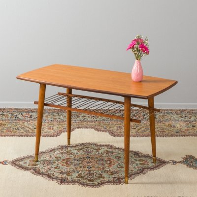 Teak coffee table from the 1950s