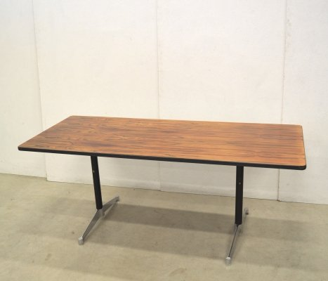 Rare Herman Miller Rosewood Action Office Table by Charles & Ray Eames, 1960s