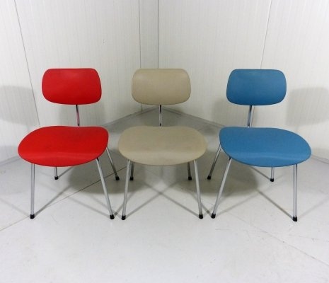 Set of 3 Egon Eiermann SE68 Chairs
