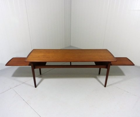 1960's Teak Extendible Coffee Table, Denmark