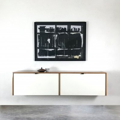 Floating 'Model 121' cabinet by Florence Knoll for Knoll International