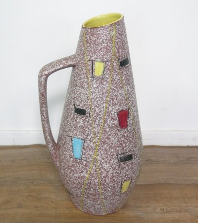 '270/50' Ceramic vase by Scheurich Germany