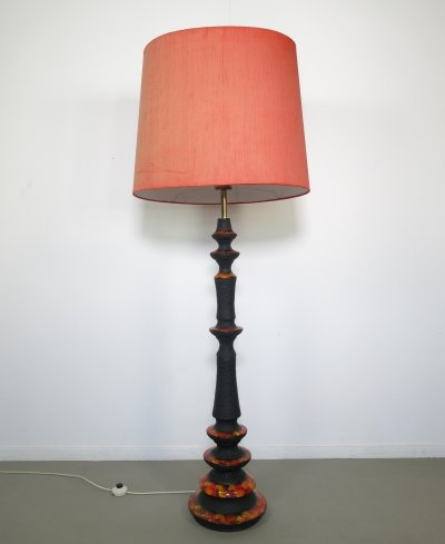 Rare big Fat lava floorlamp by Walter Gerhards KG