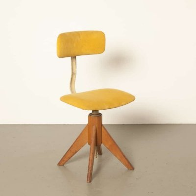 Pelko 21 office chair by W. Gispen for Gispen, 1940s