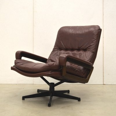 King lounge chair by André Vandenbeuck for Strässle, 1960s