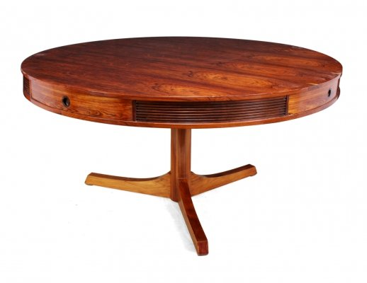 Rosewood Drum Table by Robert Heritage for Archie Shine, c1957