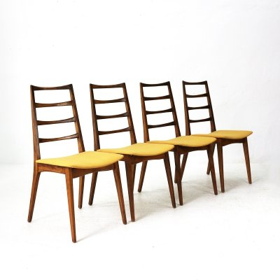 Set of Four Mid-Century Dining Chairs, 1960s