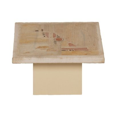 Small White Coffee Table by Paul Kingma, 1985