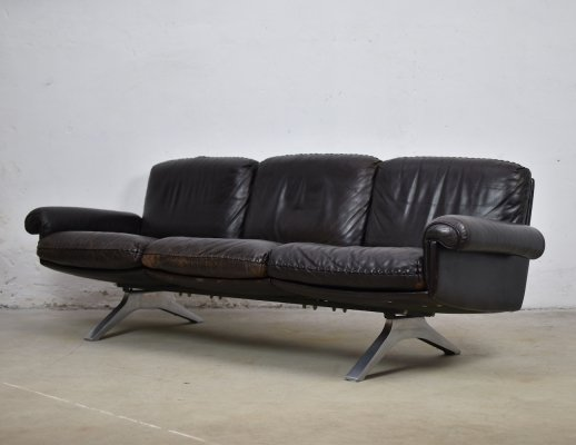 DS31 three seater sofa by De Sede, Switzerland 1970's