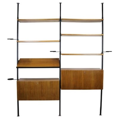 Midcentury Design Room Divider Wall System, Germany 1960s