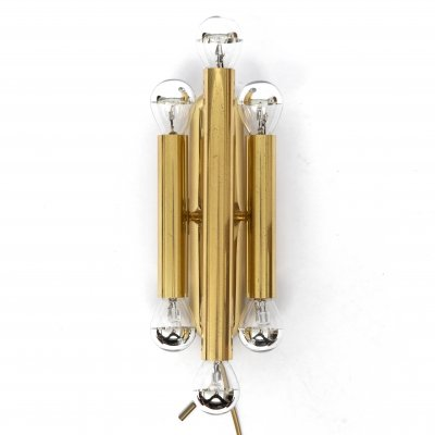 Mid-Century modernist cinema sconce by Sciolari, 1970s