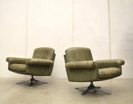 Pair of DS31 lounge chairs by De Sede, 1970s