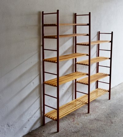 Mid Century Dutch Shelving Unit