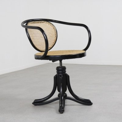 Model 5501 office chair by Gebr. Thonet for ZPM Radomsko, 1920s