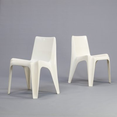 Pair of Helmut Bätzner 'BA1171' chairs for Bofinger Furniture